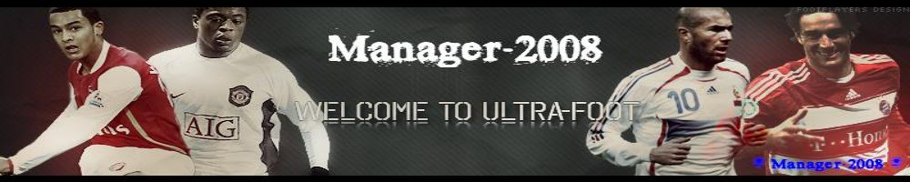 Manager 2008 Index du Forum