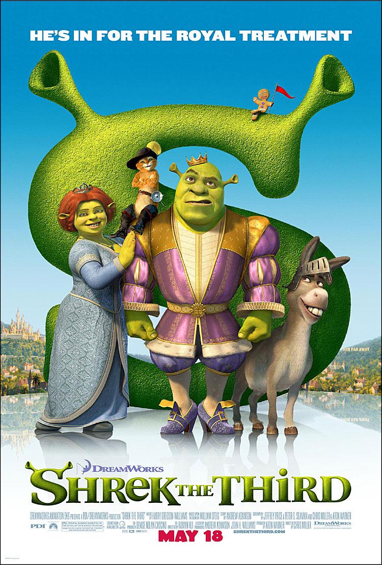 Shrek the Third Movie