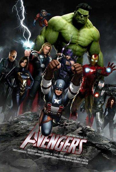 Poster de The Avengers (Los vengadores)