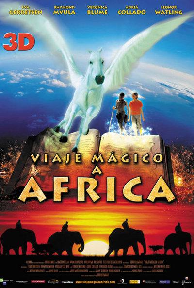 Poster de Viaje magico a Africa