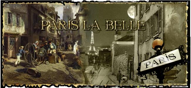 Paris la Belle Index du Forum