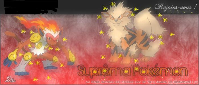 Suprema Pokemon Index du Forum