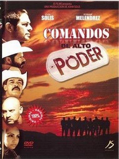 Poster de Comandos de alto poder