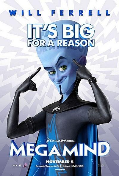 Poster de Megamind