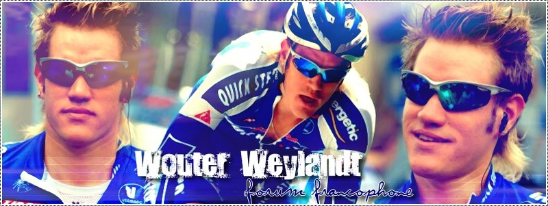 Wouter Weylandt Index du Forum